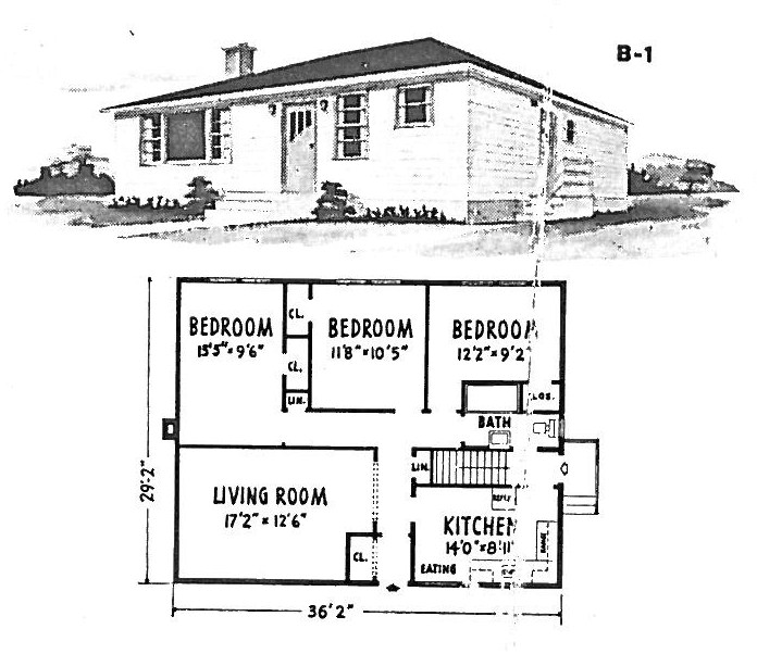 1940 bungalow house plans small house plans craftsman for Small house plans canada