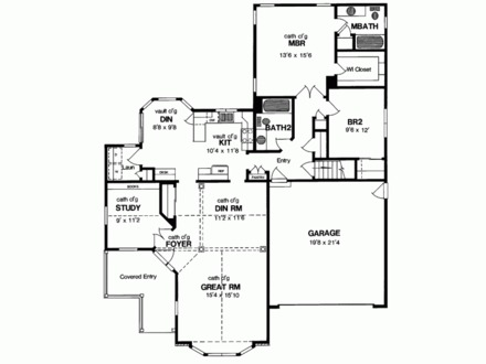 2 Story Master Bedroom 2 Bedroom Single Story House Plans