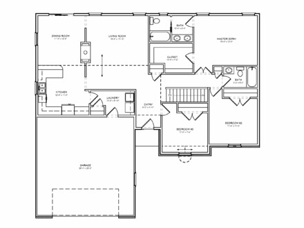800 Sq Ft 2 Bedroom Floor Plans Small 800 Sq Ft House