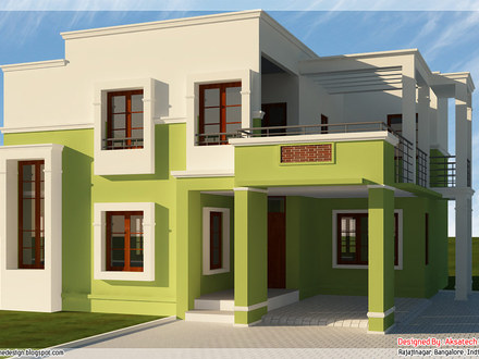 3D Small House Plans 3D Modern House Plans