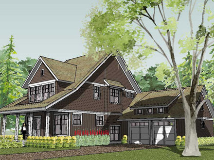 3D Small House Plans Small House Plan Style Bungalow