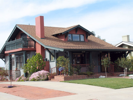 4-Bedroom Craftsman Style Homes American Craftsman Style House