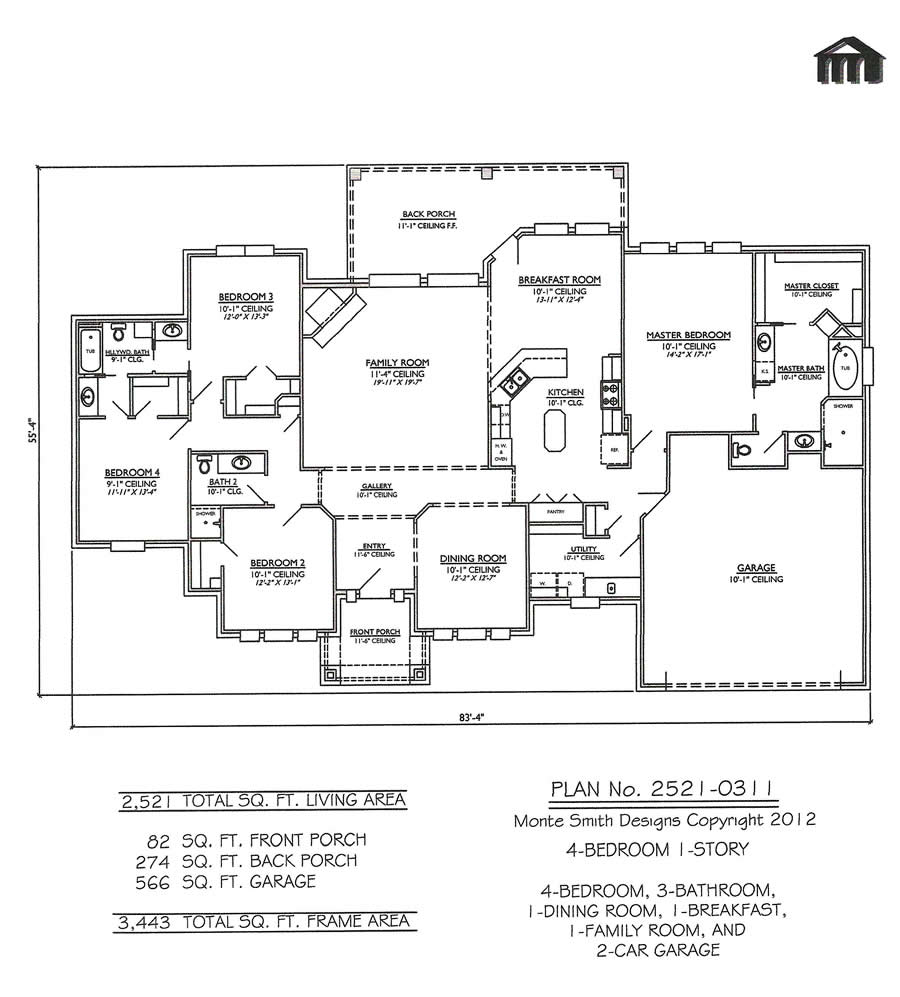 4 Bedroom House Floor Plans 4 Bedroom House With Pool 4