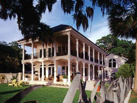 African New Orleans New Orleans French Style House Plans