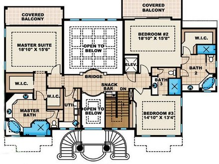 Beach House Floor Plan Beach Narrow Lot House Plans