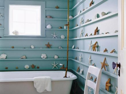 Beach Theme Bathroom Decorating Ideas Oval Bathroom Sinks