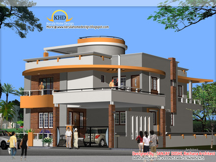 Best Duplex House Elevation Design India Modern Duplex House Plans