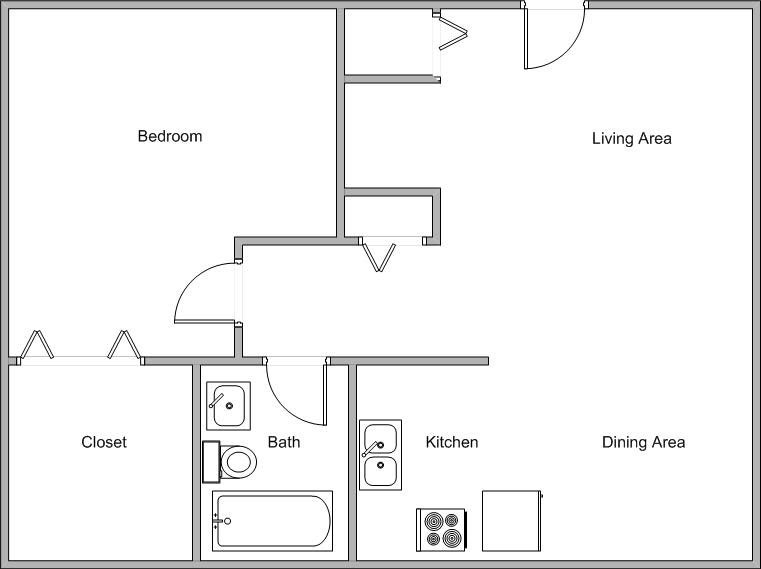 Best Small Open Floor Plans Small House Open Floor Plan