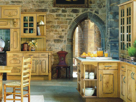 Bi-Level Ceiling French Country Kitchen Country French Kitchens Wall Designs