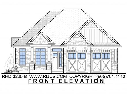 Bungalow Cottage House Plans Canadian Bungalow House Plans