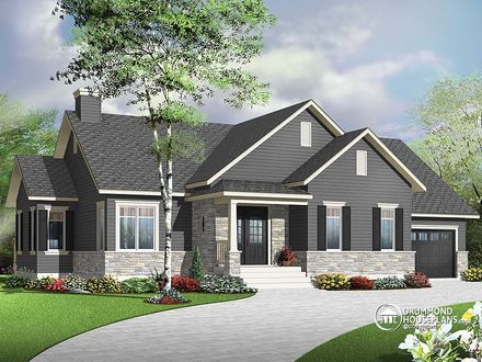 Bungalow House Plans 3 Bedroom House Plans