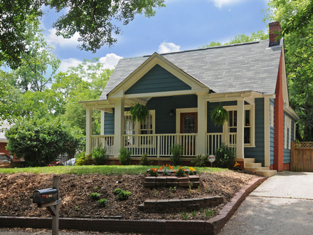 Bungalow with Front Porch Hip Roof Bungalow House Plans