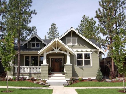 Colonial Style Home House Home Style Craftsman House Plans