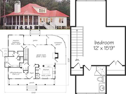 Cottage Floor Plan Simple Cottage Floor Plans