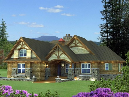 Cottage Style Homes Craftsman Style Cottage House Plans
