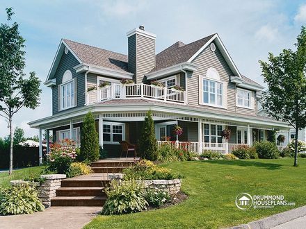 Country House Plans with Wrap around Porches Country House Plans with Front Porch