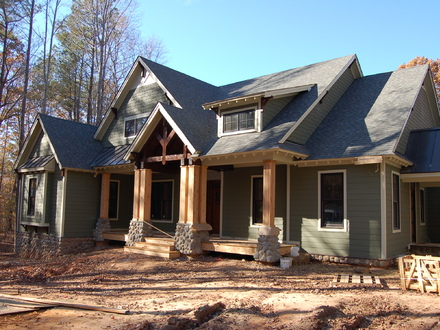 Country Style Brick Homes Country Craftsman Style Homes