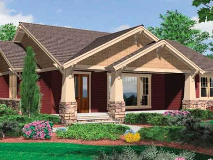 Craftman Style House Craftsman Style Bungalow House Plans