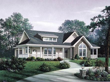 Craftsman Ranch House Plans Small Craftsman Ranch House Plan