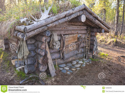 Deer Hunting Cabins Hunting Cabin Royalty Free Stock Image Image: 12282266
