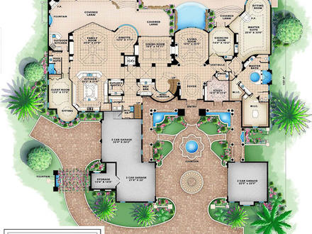 Design Luxury House Floor Plans Luxury Interior Design