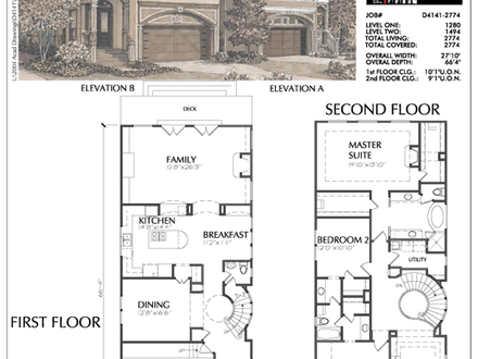 Duplex Plans for Small Lots Small Narrow Lot House Plans