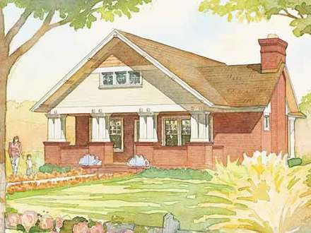 Federal Style House Southern Living Craftsman House Plans