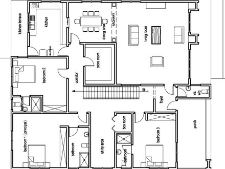 E623e57b638f0223 House Floor Plan Ex les Modern Ranch House Plans further Bachelor Apartment Floor Plan further Belvoir Castle Map Today And Then in addition Planos Castillo 9796 further 70 s style house plans. on modern japanese house plans html