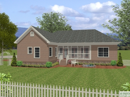 Great Traditional Plan under 2000 Square Feet Home Design Simple Two-Story House Plans