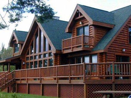 Greatwood Log Homes Floor Plans Log Home Open Floor Plan