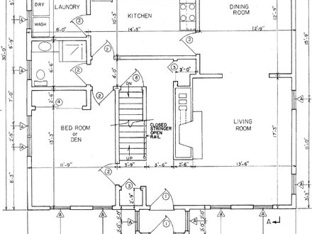 House Floor Plans with Dimensions House Floor Plans with Measurements
