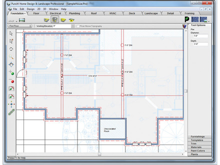 House Plans On Pilings or Piers Pier Foundation House Plans