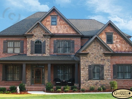 House Plans with Brick and Stone Exterior House Plans 1 Storey
