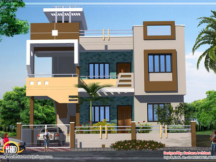 Indian House Designs and Floor Plans Indian Modern House Plans