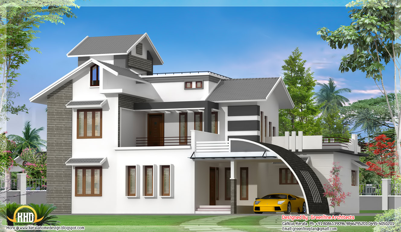 Indian style house design view front house designs house for Home front view indian style
