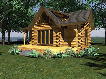 Inside a Small Log Cabins Small Log Cabin Homes Floor Plans