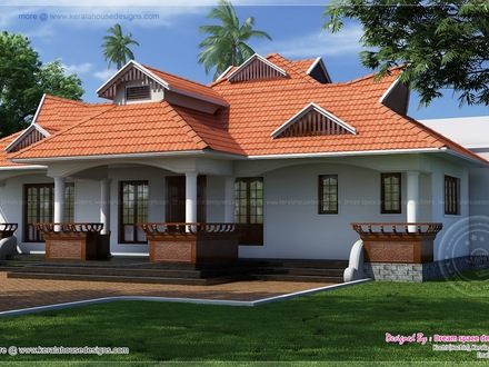 Kerala Single Floor House Designs Modern Single Floor House Designs