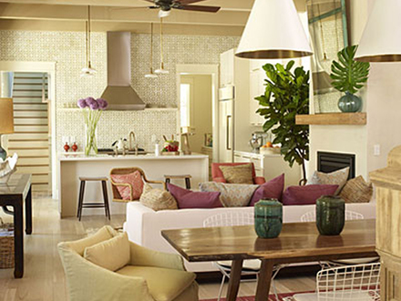 Kitchen and Living Room Design Ideas Small Living Room Kitchen Open Floor Plan