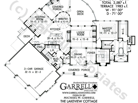 Lake view house plans small house plans lakefront for Lakeview cottage house plan