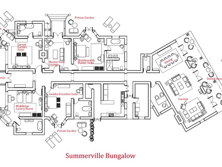 Luxury Bungalow Floor Plans Super Luxury Mediterranean House Plans