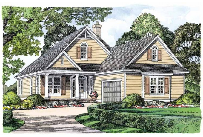 Luxury narrow lot house plans narrow lot house plans with for Cottage house plans for narrow lots