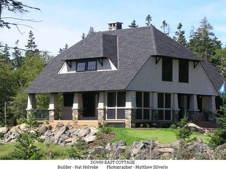 Modern Shingle Style Architecture Maine Shingle Style Architecture