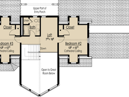 Inside small houses small 3 bedroom house floor plans for Most energy efficient home plans