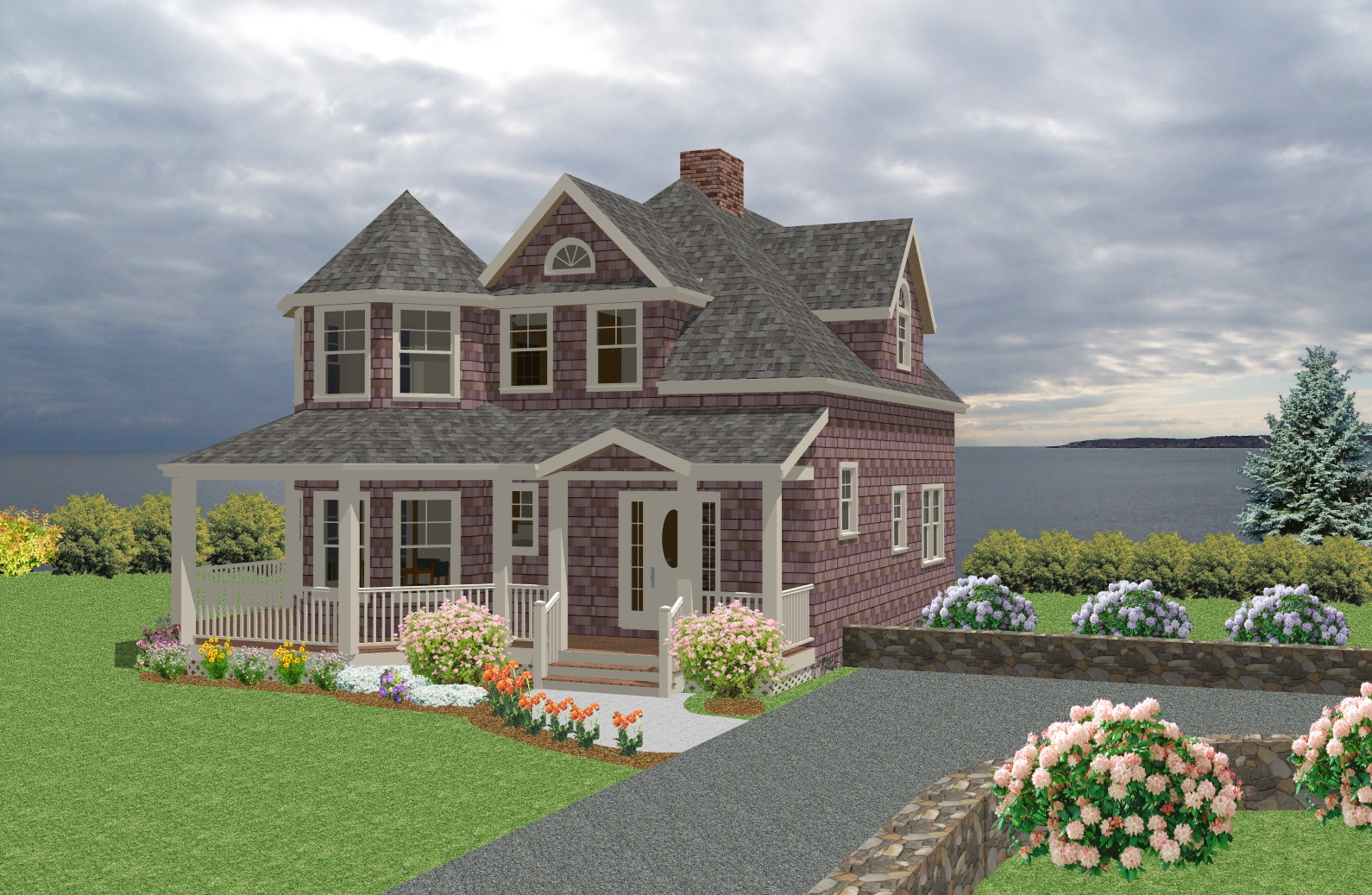 New england cottage house plans new england style homes for New england home plans