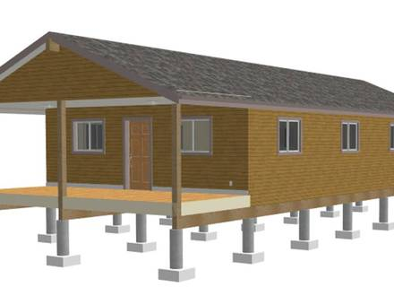 One Room Prefab Cabins One Room Cabin Plans