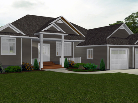 One Story Bungalow House Plans Canadian Bungalow House Plans