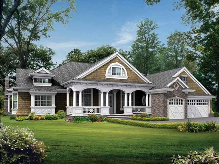 One Story Craftsman Style House Plans One Story Craftsman Style Exterior