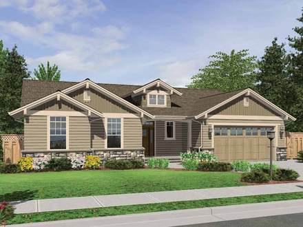 One Story Craftsman Style House Plans One Story House Plans Craftsman Style