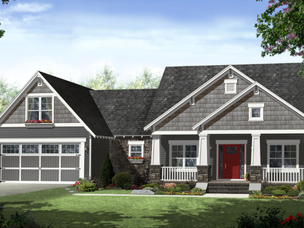 One Story House Plans Modern One Story House Plans
