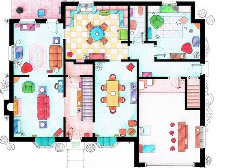 Peter Griffin Family Guy House Family Guy Griffin House Floor Plan